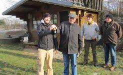 AGU übergibt Grundstücke an die Biologische Station EN